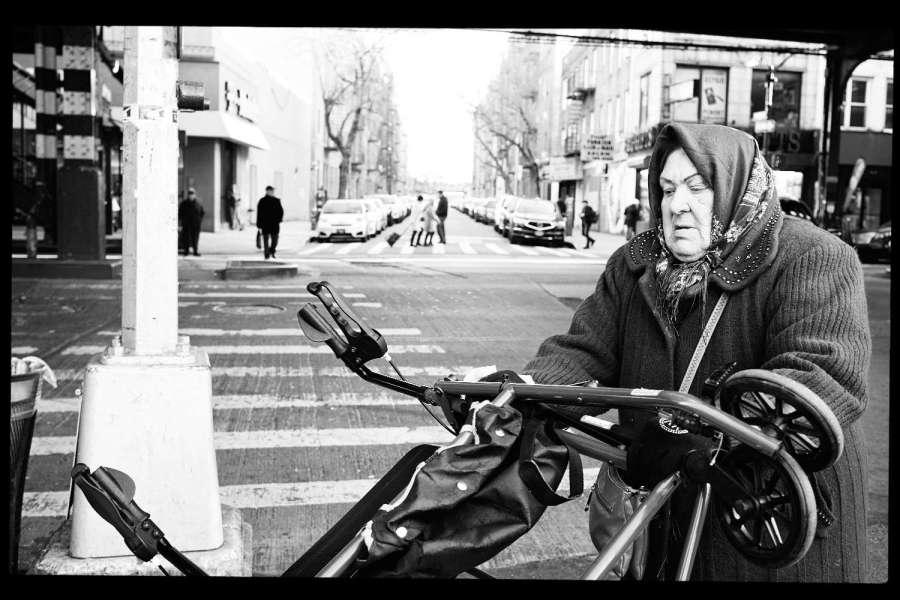Monochrome Brooklyn Street Photography