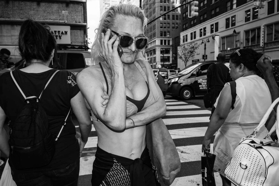 Monochrome NYC Street Photography